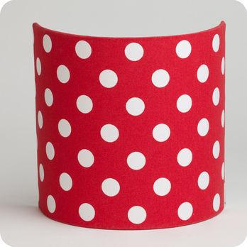 applique murale en tissu motif pois vintage rouge red dingue. Black Bedroom Furniture Sets. Home Design Ideas