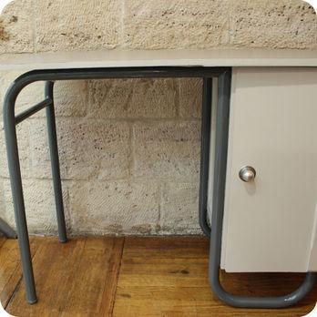 bureau vintage enfant vert anis relook pictures to pin on pinterest. Black Bedroom Furniture Sets. Home Design Ideas