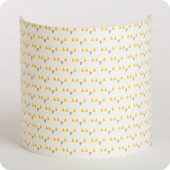 applique murale en tissu motif scandinave jaune mistinguett yellow. Black Bedroom Furniture Sets. Home Design Ideas