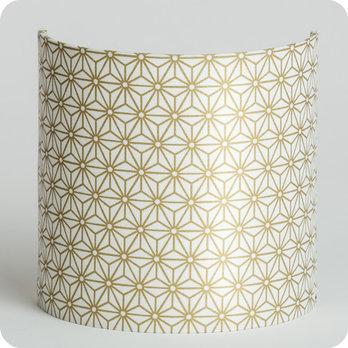 applique murale design en tissu motif japonais hoshi or. Black Bedroom Furniture Sets. Home Design Ideas